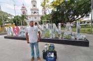 Hoy será nuevamente exaltado en la 'ciudad de La Tambora' por su liderazgo, civismo y aporte social con los ciudadanos.