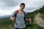 Encontraron sin vida a  Miguel Ángel Roa en el Cañón del Combeima