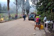 Daños puesto de control rural Ibagué