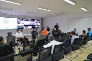 Autoridades se reunieron con biciusuarios en Ibagué