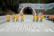 Entrega Túnel de La Línea