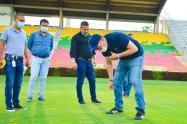 Visita estadio Murillo Toro - Conmebol
