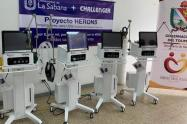 Los elementos médicos fueron entregados oficialmente a laAlcaldesa encargada de Ibagué, Dora Montaña
