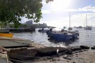 San Andrés, Islas, cerrada y sin turistas