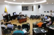 Los diputados Giovanni Molina; Felipe Ferro y Marco Emilio Hincapié, serían los candidatos a la Presidencia de la Asamblea