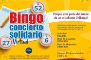 Bingo solidario a favor de estudiantes de bajos recursos