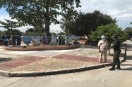 Campaña antiextorsiva en Suárez - Tolima