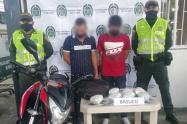 Capturados con 40 mil dosis de bazuco en el barrio Arado de Ibagué