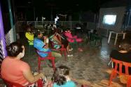 Niños de Chaparral disfrutaron de la jornada 'Cine al Campo'