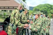 Ejército entregó elementos de bioseguridad a la tropa en Ibagué