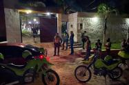 Operativos fiestas ilegales en Puerto Colombia.
