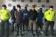 Cayeron cinco de 'Los Chuckys' en Palocabildo Tolima