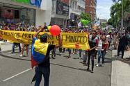 Las manifestaciones se concentraran en el parque Manuel Murillo Toro