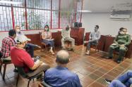 Mesa de concertación entre la Administración Municipal y taxistas en Ibagué