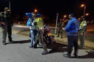 operativo movilidad en Ibagué