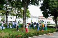 La Alcaldía de Neiva, interviene el Parque de La Música Jorge Villamil Cordovez en el marco de la recuperación de los diferentes parques de la ciudad