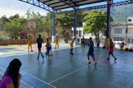 Polideportivo  sector san cayetano