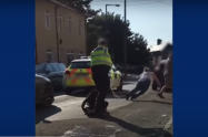 Footage shows pregnant woman Tasered