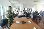Taller de seguridad con agricultores del Tolima