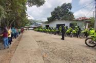 Comandante de DETOL agradece comportamiento de la población en Valle de San Juan