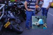 Vigilante falleció atropellado en la 18 con Quinta en Ibagué