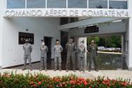 CACOM 4 conmemoró los 101 años de existencia de la Fuerza Aérea Colombiana