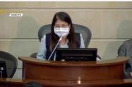 Criselda Lobo, preside sesión plenaria
