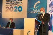 Omar Yepes Convención Partido Conservador