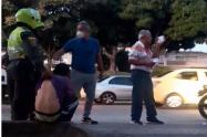 """""""La violencia de los 'Limpiavidrios' se deriva del consumo de estupefacientes"""": William Rosas"""