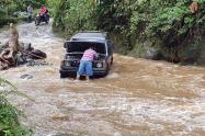 Lluvias zona rural de Ibagué