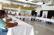 Se llevó a cabo nueva mesa de concertación entre autoridades municipales y representantes de los taxistas en Ibagué