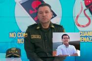 El general Murillo envía un saludo de condolencia por la muerte de Carlos Alvarado