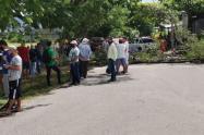 Protesta en San Luis - Tolima