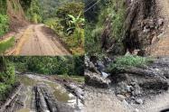 Vía cerro machín Ibagué