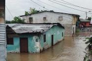 Referencia inundaciones en Chocó.