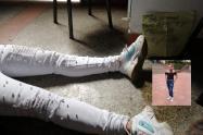 Asesinaron a una joven en un bar de Bilbao en Planadas
