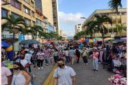 Centro de Ibagué calle Tercera diciembre 2020