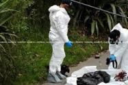 Hallan parte de una pierna humana en una bolsa en Cúcuta