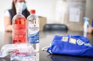 Entrega de elementos de bioseguridad en Ibagué