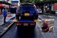 Se busca conductor que abandonó vehículo tras atropellar adulta mayor en la 9ª del Jordán