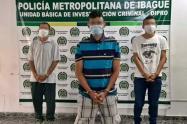 Duro golpe a 'Los Zorrillos' dedicados al tráfico de estupefacientes en Ibagué