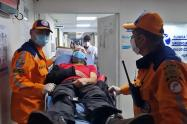 Rescatan a montañista herido en el Nevado del Tolima