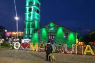 Policía Tolima con todas sus especialidades se tomaron Mariquita, al norte del Tolima