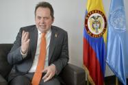 Carlos Ruiz Massieu, jefe de la Misión en Colombia para el acuerdo de paz.