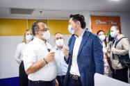 alcalde Hurtado y presidente de la CCI, Bulla 2021