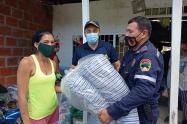 Tres viviendas fueron consumidas totalmente por el fuego sector de villa Colombia