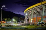 Luminarias exterior estadio Manuel Murillo Toro Ibagué