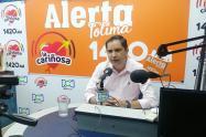 Secretario de Movilidad, César Yáñez
