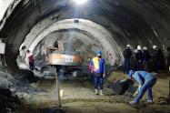 túnel del Cruce de la Cordillera Central 2021