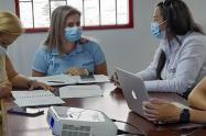 Mesa de trabajo secretaria de Salud y personera de Ibagué
